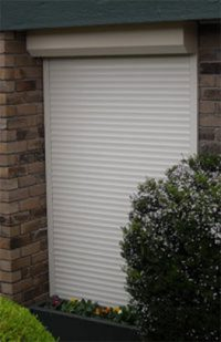 image of roller shutters