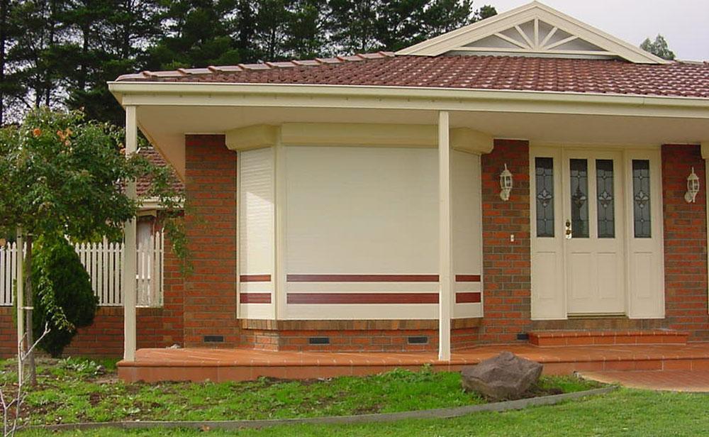 image of roller-shutter-front house