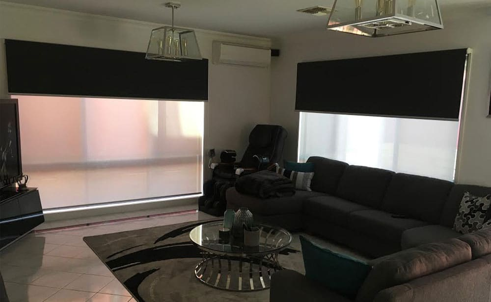 image of sunscreen roller blinds Melbourne
