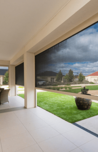 image of Ezip screen blinds