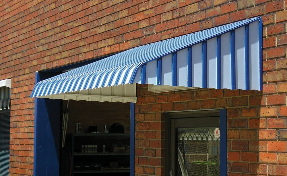image of blue Kingston Awnings