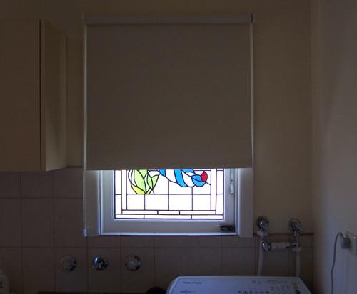 image of spring-loaded roller-blinds