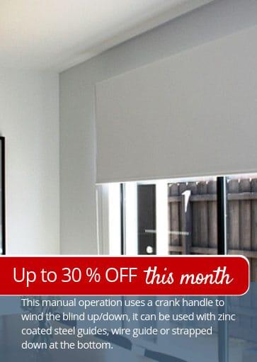 Image of crank-blinds-on-sale-melbourne